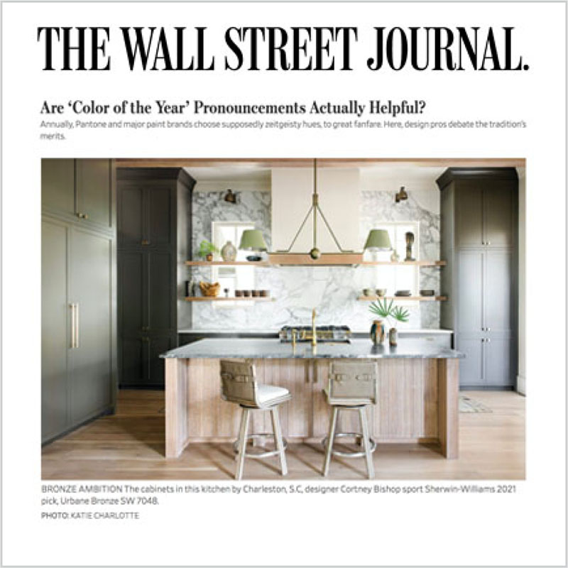 Gala Magriña Design featured in The Wall Street Journal WSJ