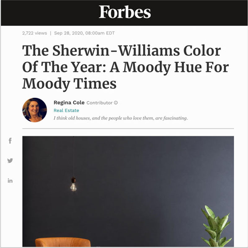 Gala Magriña Design featured in Forbes