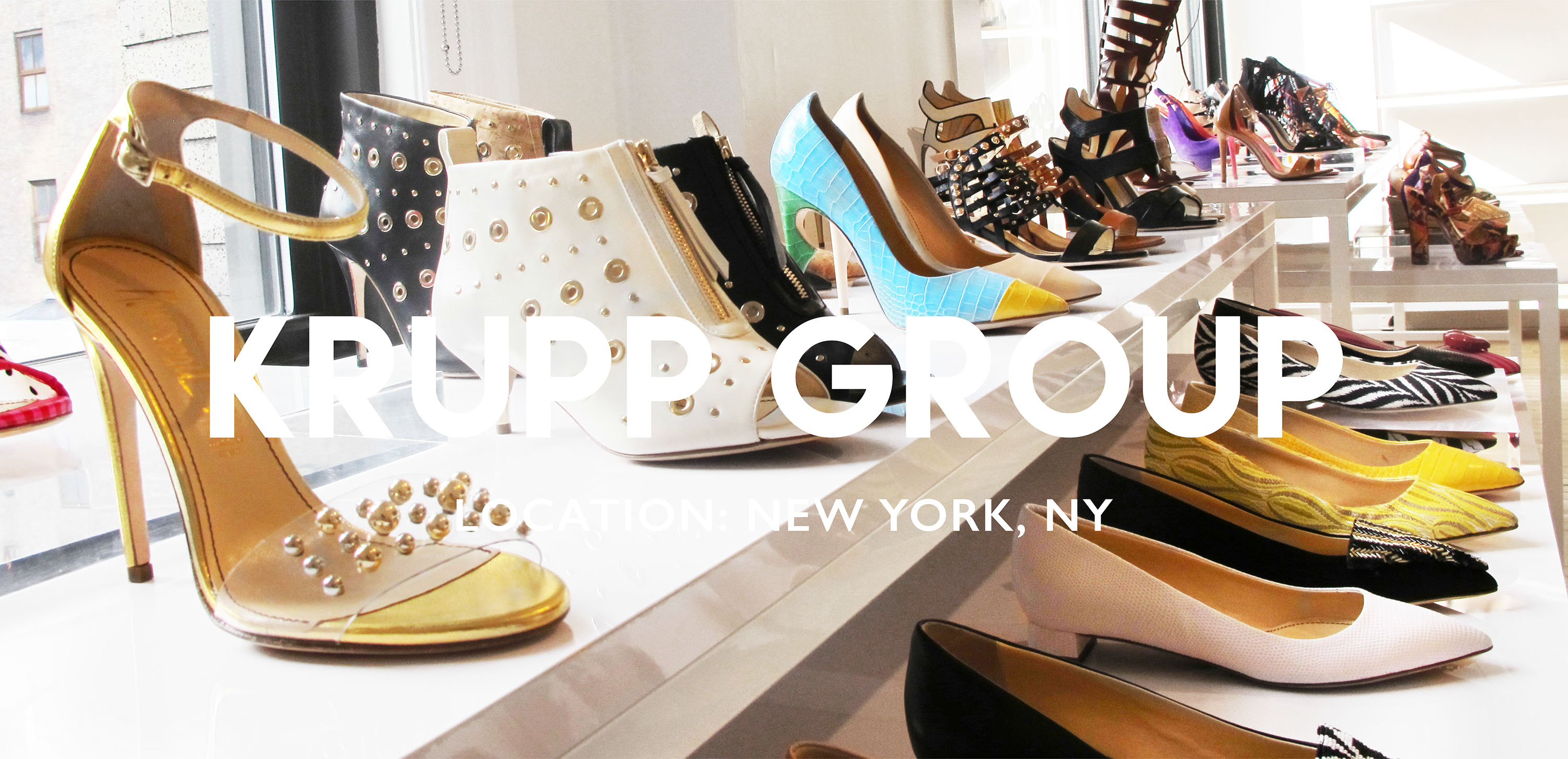 Interior Design and Visual Merchandising for Krupp Group in New York, NY | Gala Magriña Design