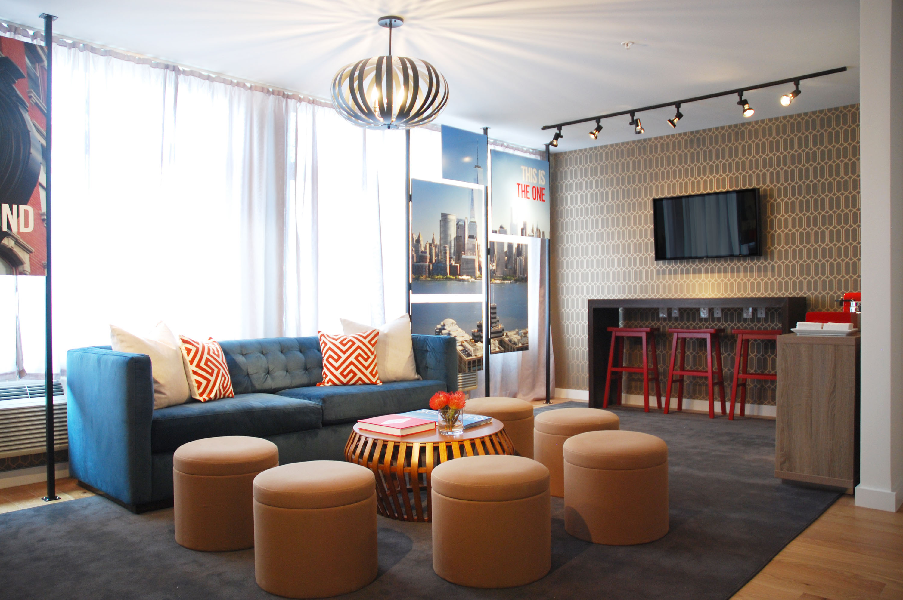 Creative office lounge design | Experiential design