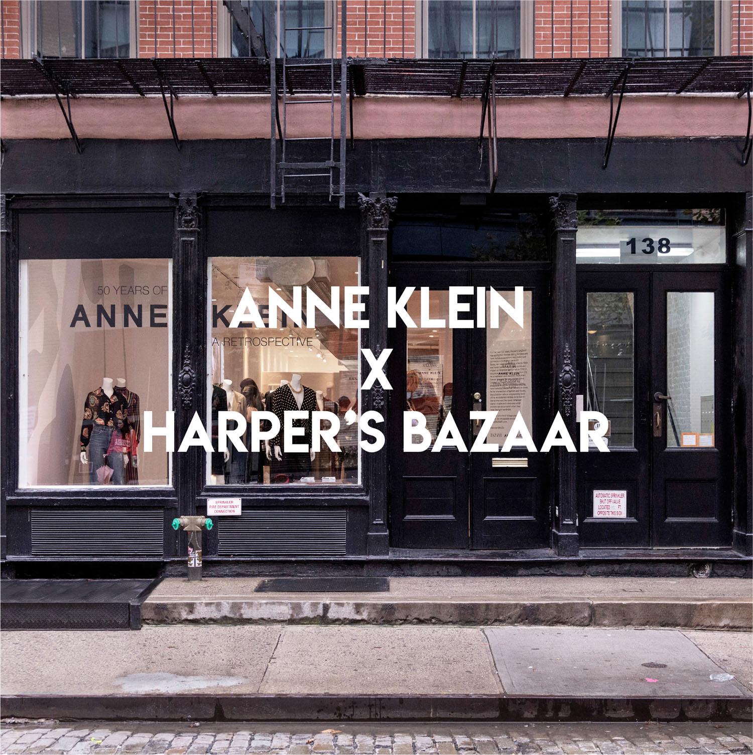 Annd Klein X Harpers Bazaar in New York, NY by Gala Magriña Design