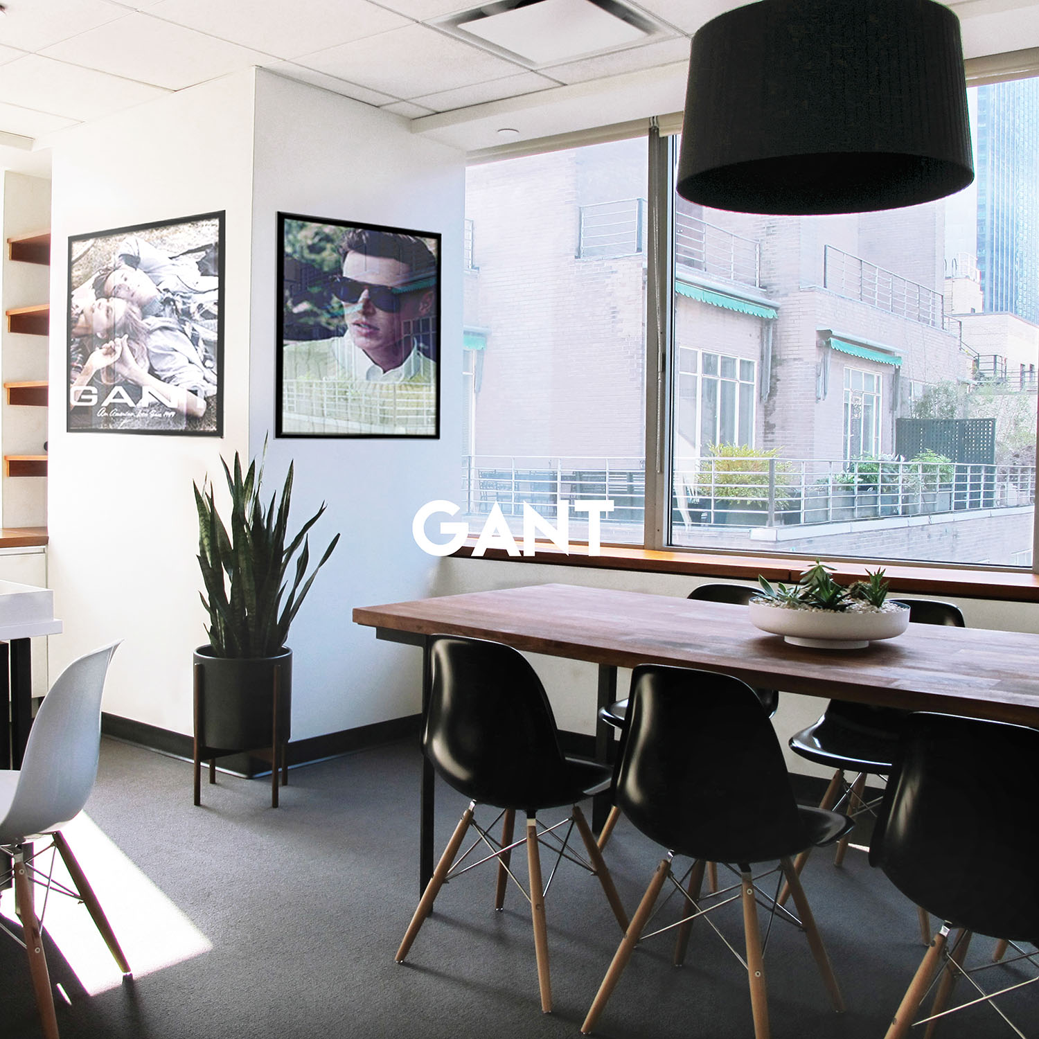 Gant Offices in New York, NY | Office interior design by Gala Magriña Design