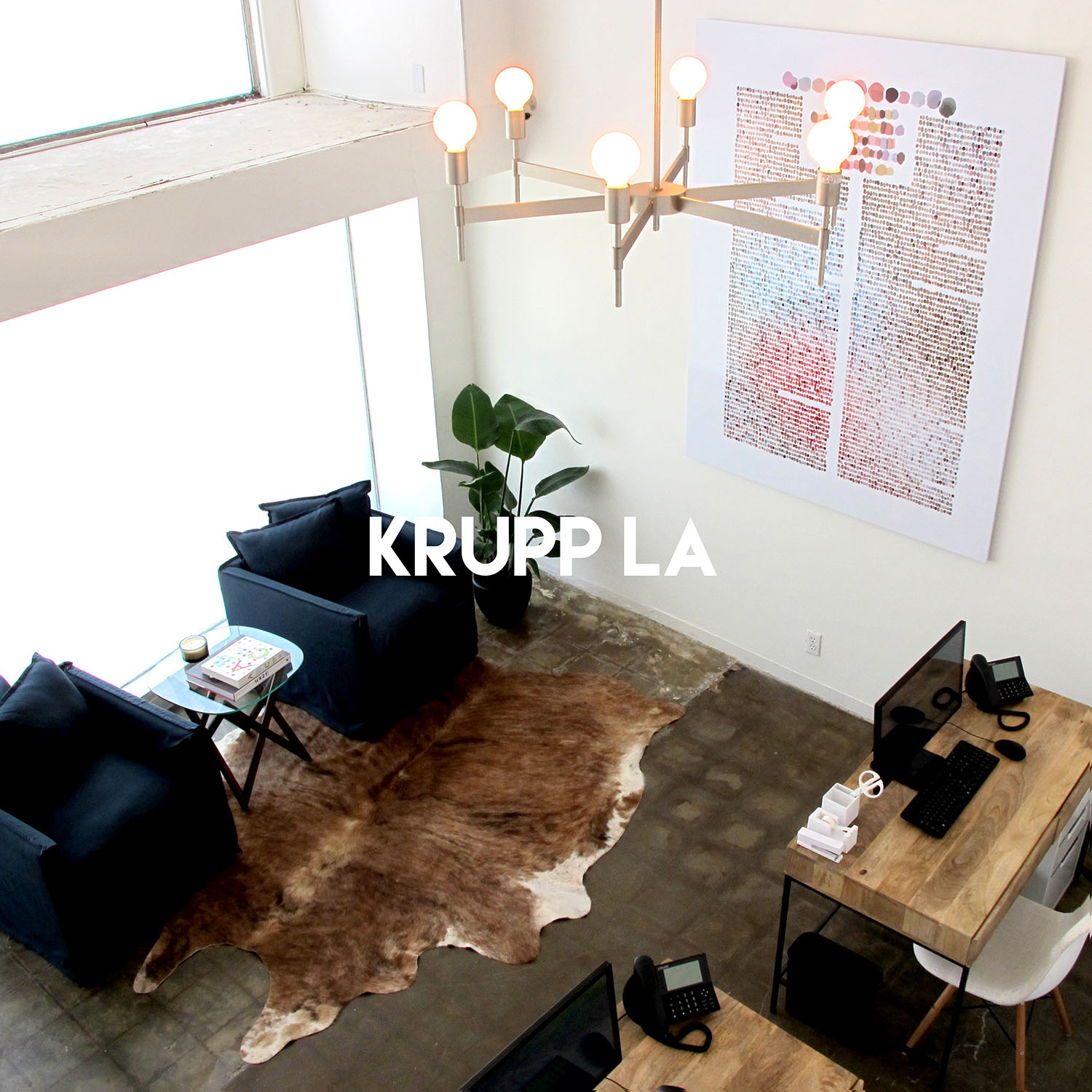 Krupp Offices in Los Angeles, CA | Office interior design by Gala Magriña Design