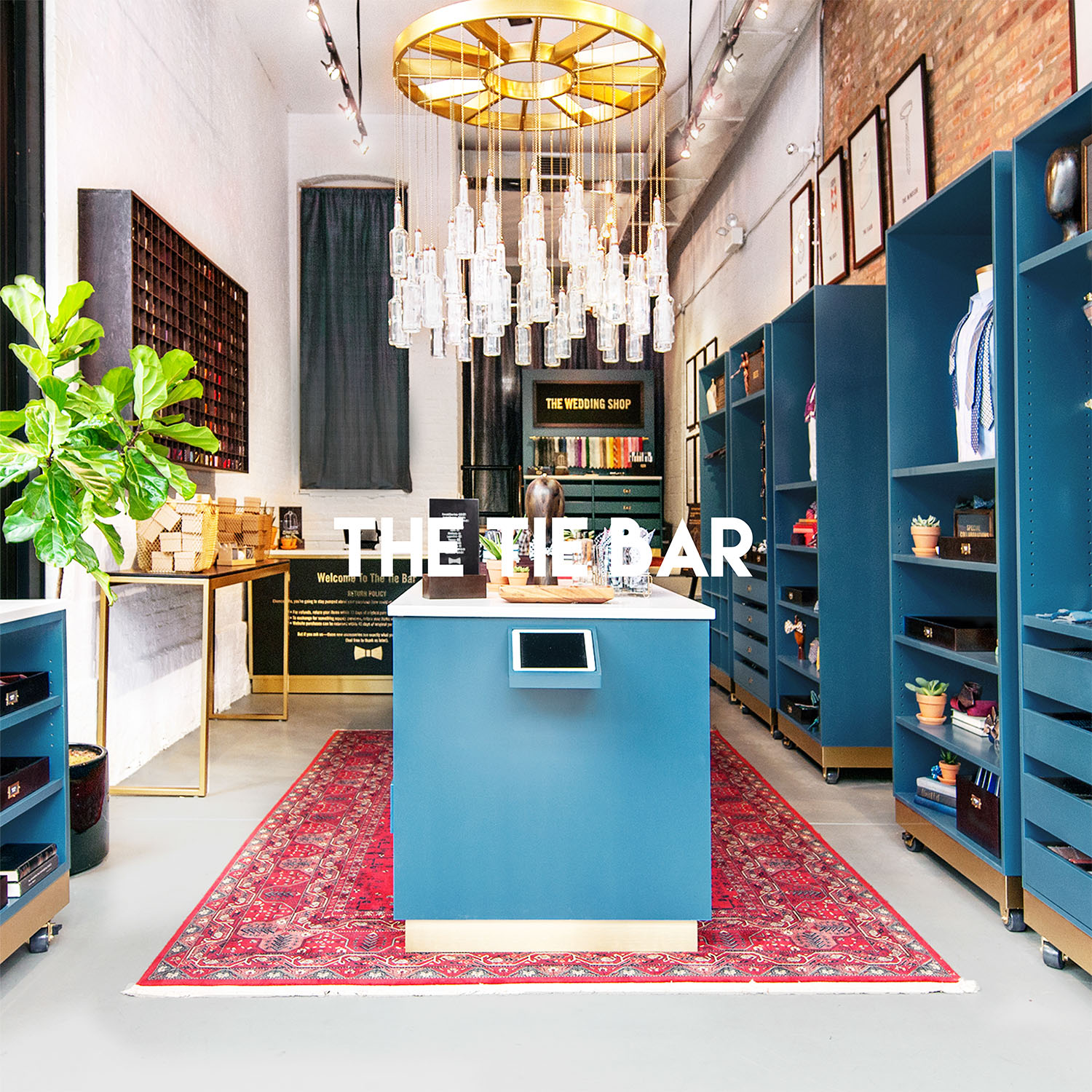 The Tie Bar in New York, NY | Retail interior design project by Gala Magriña Design